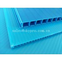 China Ultraviolet - Proof Clear Plastic Hollow Board Corrugated Environmentally Friendly wholesale