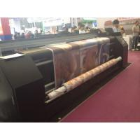 China Digital Printing On Fabric Sublimation Printing Machine Dual CMYK For Feather Flag wholesale