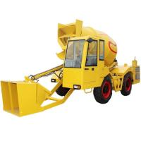 China Mobile Concrete truck mixer self loader on sale