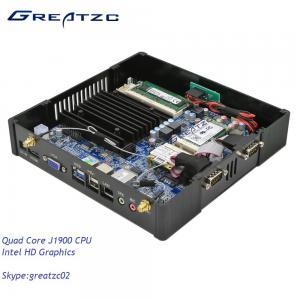 China Quad Core CPU Mini Fanless PC Computer J1900 INTEL HD Graphics HDMI VGA wholesale