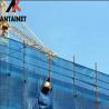 Buy cheap Scaffolding Net HDPE Wind Protection Screen , Single Peak Wind Dust Net Mesh from wholesalers