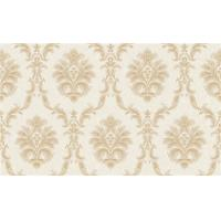 Italy Style Pvc Deep Embossed Wallpaper Waterproof With Damask Design