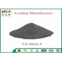 Vat Black 8 Cotton Fabric Dye Environmental Vat Dyes 200 Solubility