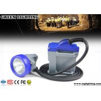 China Cord Safety Rechargeable LED Miners Light 10000 Lux 3W High Power Main Light wholesale