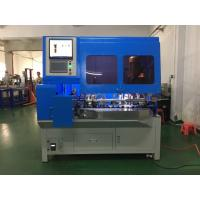 Buy cheap 3 Pin Plug Insert Automatic Wire Crimping Machine , Automatic Wire Crimper from wholesalers