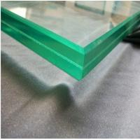 China Decorative Curved Toughened Glass / Coated  Tempered Safety Glass For Doors wholesale