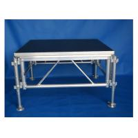 China Weather Resistant Wedding Portable Aluminum Moving Stage Platform on sale