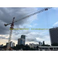 China qtz5010 Hammerhead Tower Crane 4tons Max. Height 120M Freestanding Height 30M wholesale