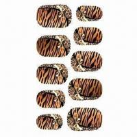 China Nail Art Stickers, Available in Various Designs wholesale