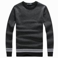 China Armani sweater mens winter sweater cashmere woollen sweater wholesale