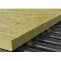 China High density thermal Insulation Rock Wool 40mm For Building wall on sale