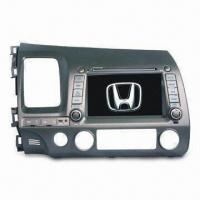China 7-inch HD TFT Car DVD for Honda Civic, with Backlight Dimmer and Dual Zone Entertainment on sale