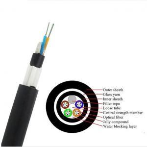 China GYTY53 Fiber Cable/ GYFTY73 Underground Optical Fiber Cable With Anti-biting Protection/ GYTA53 Underground Fiber Optic wholesale