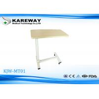China Movable Wooden Tray Tables , Hospital Dining Table Match With Care Bed KJW-MT 01 on sale