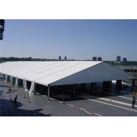 China 5m Bay Distance White Fabric Marquee Tent Folding Tent UV - Resistant wholesale