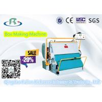 China Good Using Platen Corrugated Carton Box Creasing Die Cutting Machine wholesale