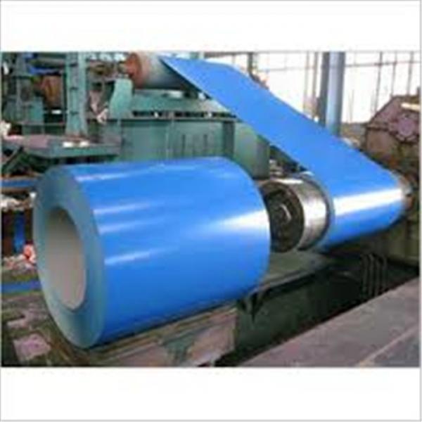 Quality Color Coated Painted Steel Coil Corrosion Resistance EN10327 DX51D+AZ for sale