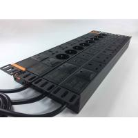 China PC Surge Protector Power Bar , Industrial Cabinet Rack Mount Power Strip Multi - Purpose wholesale