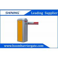 China 1.5s / 6s Straight Arm Electronic Retractable Barrier Gate With RFID Card Reader wholesale
