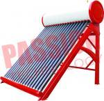 China Portable Non Pressurized Solar Water Heater Non Pressurized Vacuum Tube 200L wholesale