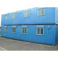 China Durable Metal Container Houses Steel Tubes Dormitory Portable Dwelling Disassemble 20 Foot Container House wholesale