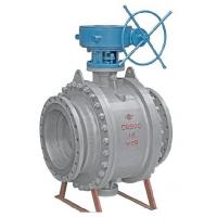 China API Fixed Flanged Ball Valve , Trunnion Ball Valve Flanged End With Cast Steel wholesale