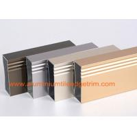 China Anodized 6063 - T5 Aluminum Extrusion Profiles Rectangular Hollow Shaped on sale