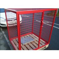 Buy cheap Eco Friendly Propane Tank Storage Cage , Gas Tank Cage With Galvanized Material from wholesalers