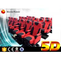 China 24 Seats Dynamic Theater Large 5D Movie Theater With Electric Motion Platform wholesale