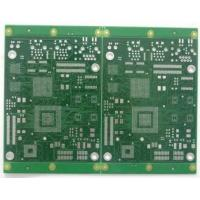 China FR4 Electronics gold finger pcb board Green with Silkscreen White wholesale