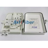 China 16 Core ABS FTTH Fiber Optic Distribution Box For FTTX Access System Terminal Link wholesale