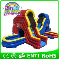 2015 water park slides for sale,inflatable water slide with air blower