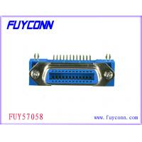 Wholesale Female 24 Pin Centronics Connector , Panel Mount Connectors Certified UL from china suppliers