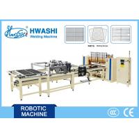 China Steel Wire Shelf Welding Machine ,  Full Automatic Oven Rack Spot Welding Machine wholesale