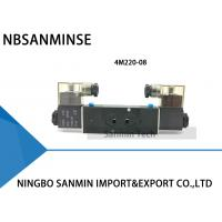 Quality NBSANMINSE 4M Manifold Type Pneumatic Solenoid Valve Single / Double Coil Pneumatic Valve for sale