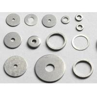 China Hot Dip Galvanized Metal Flat Washers , M6 Precision Flat Ring Gasket For Fasteners wholesale