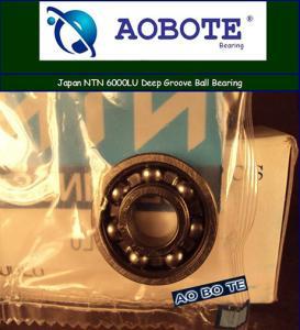 Quality Japan NTN Ball Bearings 6000LU Deep Groove With LU Seal Type ABEC-5 for sale