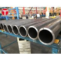 China Sae J526 Welded Carbon Steel Pipe , Dom Round Steel Welded Pipe 1 - 12m wholesale