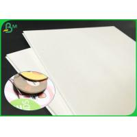 China 960*600mm 1.4mm 2.0mm Cream White Absorbent Paper Board For Car Air Fresheners wholesale