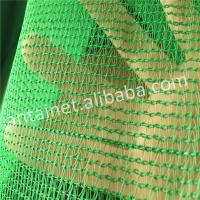Quality HDPE Raschel Knitted Outdoor Shade Net / Sun Shade Netting Cloth with Shade Rate for sale