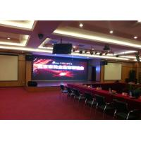 China P4.81mm Conference Concerts stage background led display Rental , Ultra Thin wholesale