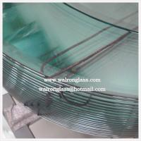 China Round Shape Clear/Frosted Tempered/Toughened Glass with Customized Size on sale