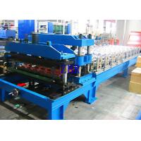 China Automatic 1100 Metal Roof Tile Roll Forming Machine 12Mpa 20 Stations Roller wholesale