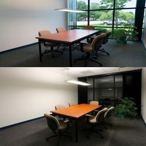 Quality 1ft x 4ft 40 W Flat LED Panel Light Commercial Led Lighting 5000lm UL & DLC for sale