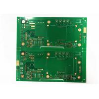 Buy cheap ENIG/ HASL Green Soldmask White Silkscreen Multilayer PCB Board from wholesalers