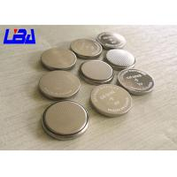 Quality LiMnO2 Cr2032 Coin Cell Battery , 20 * 3.2mm 3 Volt Lithium Battery 240mAh for sale
