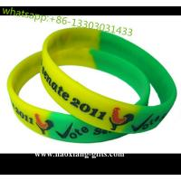 China Silicone Jewelry Main Material and Unisex Gender custom silicone rubber wristband wholesale