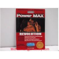 Wholesale Power Max Herbal Male Performance Enhancers / Male Energy Enhancement Capsule For Men from china suppliers