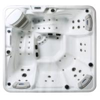 China 5 Person Capacity Hot Massage Tub , Hot Tub Spa Corner Drain Location PFDJJ 08 wholesale