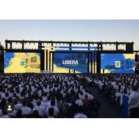 Quality RGB Portable Stage Background Led Display Big Screen 6000 Nits With Video for sale